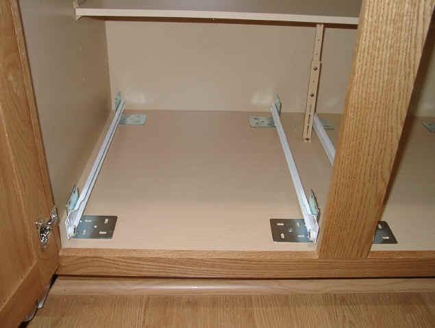 Installing Drawer Slides On Frameless Cabinets   WoodWorking