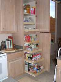 pantry cabinet pull out shelves  Roselawnlutheran