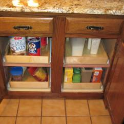 Sliding Drawers For Kitchen Cabinets Concrete Table Shelves That Slide Testimonial Page Pull Out