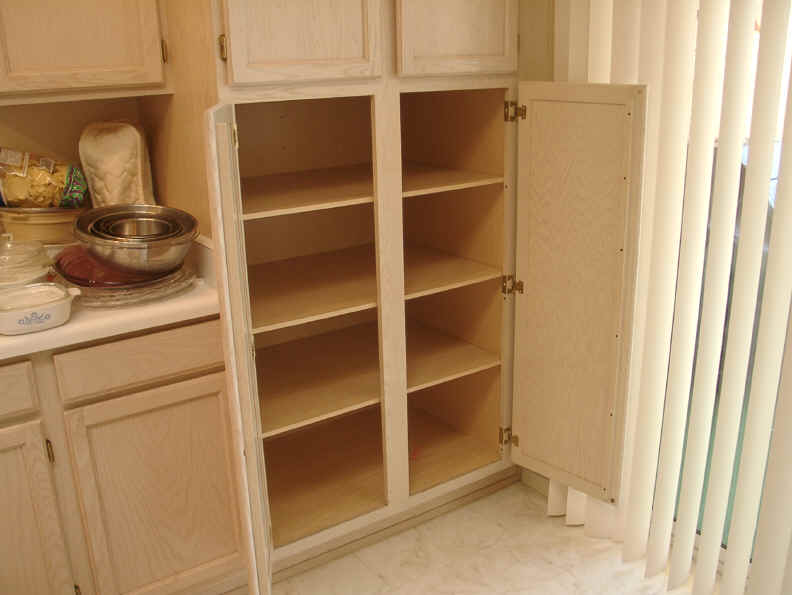kitchen cabinets pantry refinish or replace cabinet pull out shelf storage sliding shelves