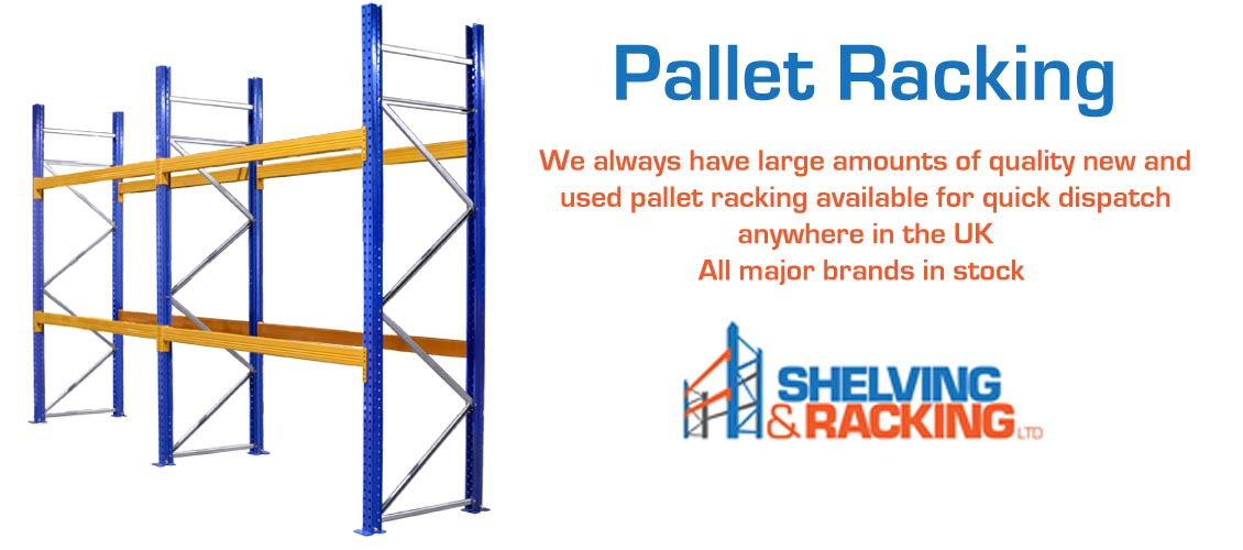 New Pallet Racking, new industrial pallet racking