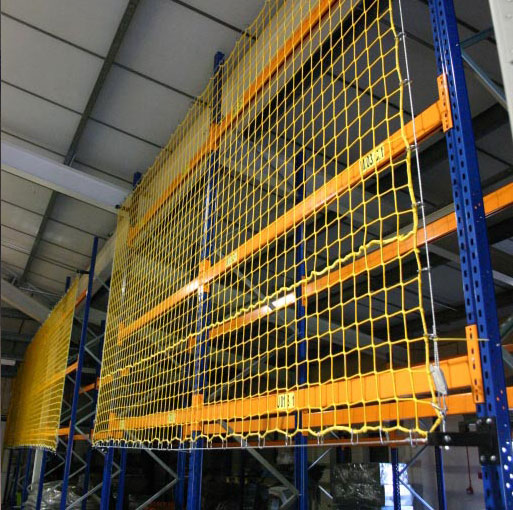Warehouse Rack Safety Nets