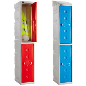 Water Resistant Plastic Lockers