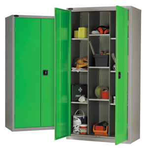 12 Compartment industrial cupboard