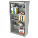Open industrial cupboard