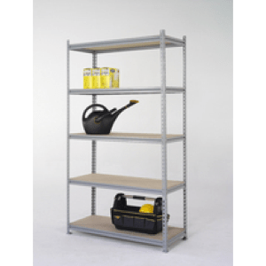 clip together shelving, warehouse racking, hand loaded, light duty, industrial racking