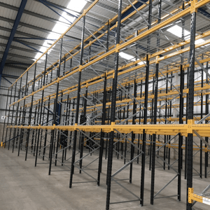 warehouse racking shelving deliveries