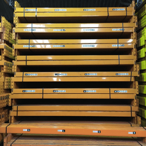 Used Dexion warehouse pallet racking