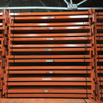 Used industrial pallet racking, Heavy duty shelving offer