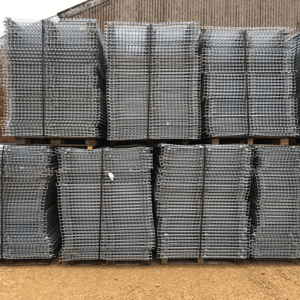 Used wire mesh decking