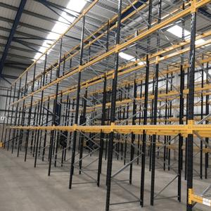 Warehouse racking installations