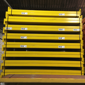 Redirack used pallet racking