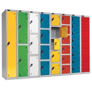 warehouse steps lockers