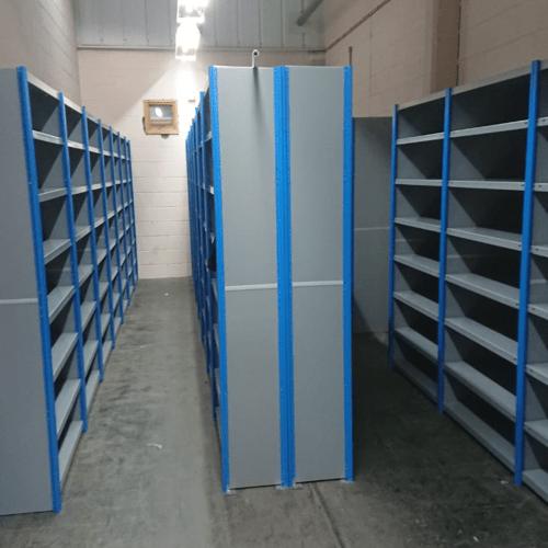 pallet racking installation