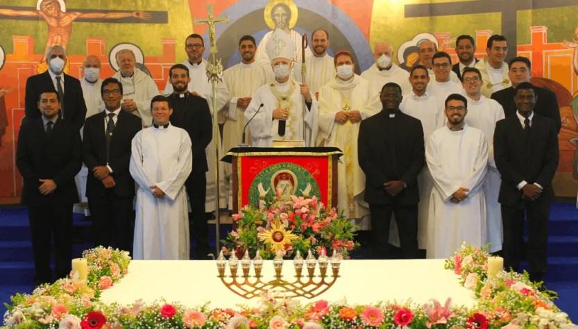 Celebrazione al Seminario Redemptoris Mater San Paolo Apostolo per i 10 anni dalla fondazione.