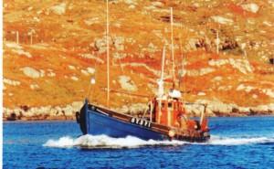 Ribhinn Donn II Ring net fishing boat .