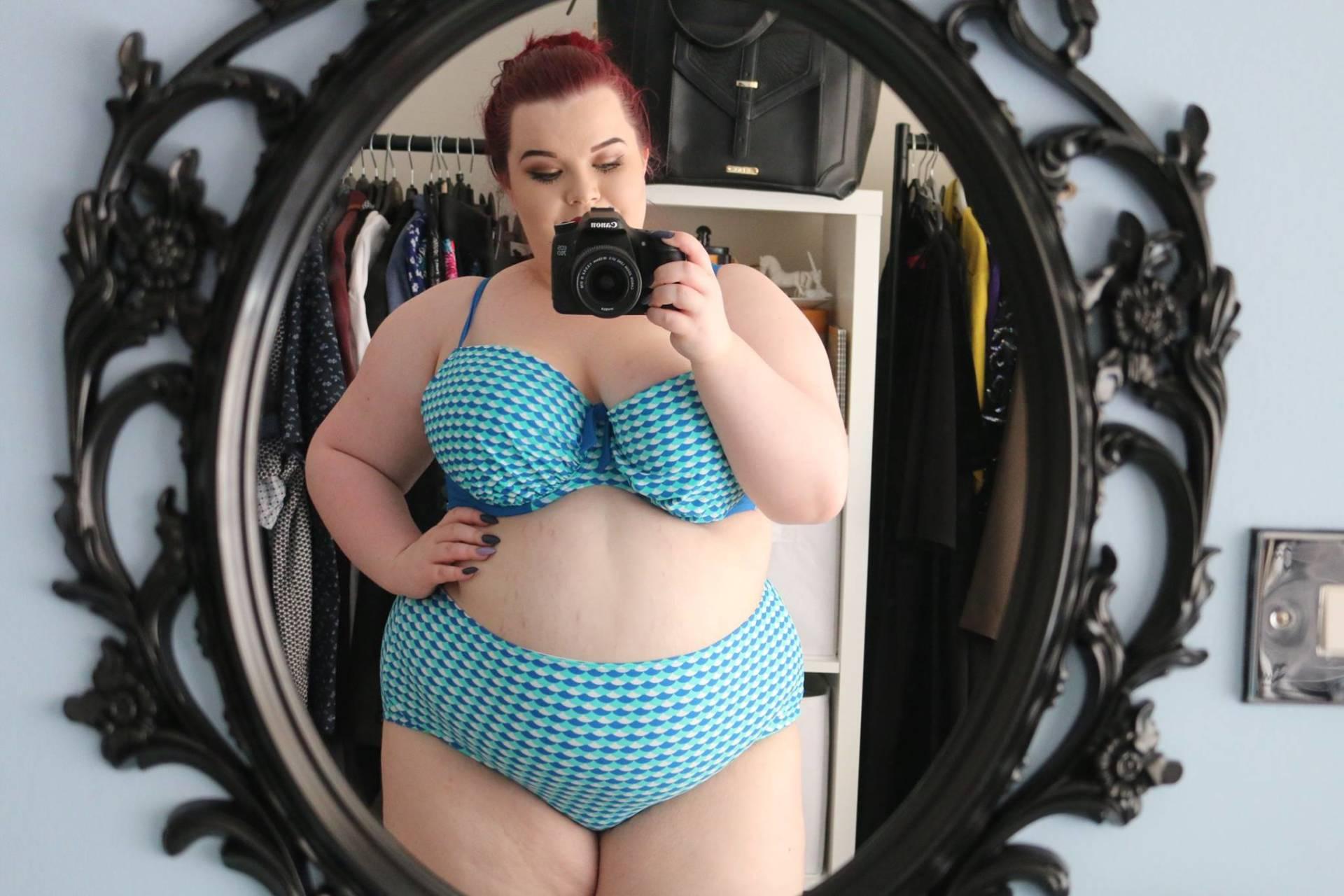 ba89b58c08da2 Plus Size Swimwear Haul Try On - She Might Be Loved
