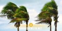 سرعة الرياح تصل الى 100 كلم في الساعة و الرصد الجوي يُحذر