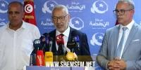 """الغنوشي مهنئا التونسيين بالعيد: """"ندعو الجميع إلى التضامن ورصّ الصفوف والتهدئة"""""""