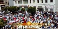 صفاقس: اضراب جهوي في قطاع الصحة ومسيرة ضخمة مطالبة باطلاق سراح النقابيين الموقوفين