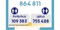 إلى غاية 16 جويلية: استكمال 864811 شخصا التلقيح ضد كورونا