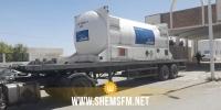 شاحنة تونسية تتوجه إلى زوارة الليبية لجلب 12 ألف لتر من الأكسجين