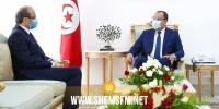 رئيس الحكومة يستقبل سفير السعودية بتونس