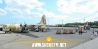 وصول 4 طائرات عسكرية مغربية مُحملة ببقية تجهيزات المستشفى الميداني