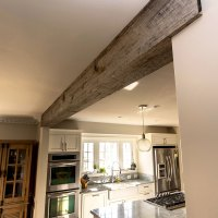 Beams & Mantle Shelves made from reclaimed wood