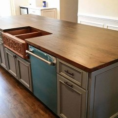 Wood Countertops Kitchen Hotel With New York Reclaimed Shenandoah Home Modern Farmhouse Kitchens