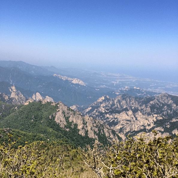 Daecheongbong View, South Korea
