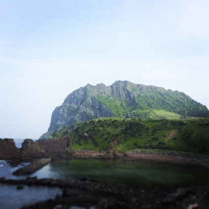 Seongsan Ilchulbong Peak, South Korea