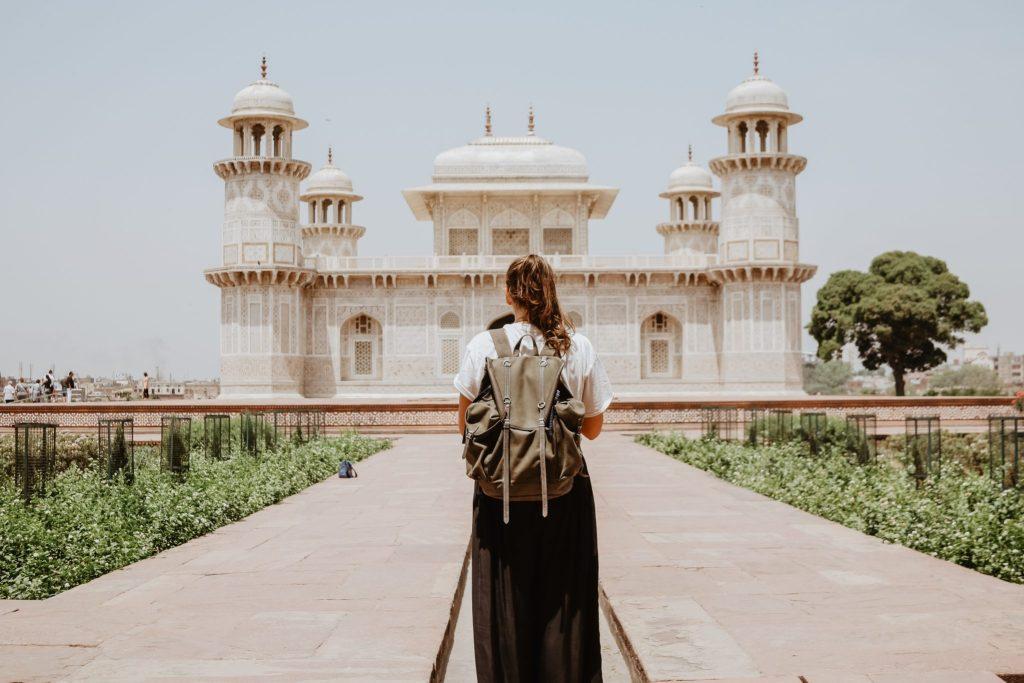 girl backpacking india inspiration