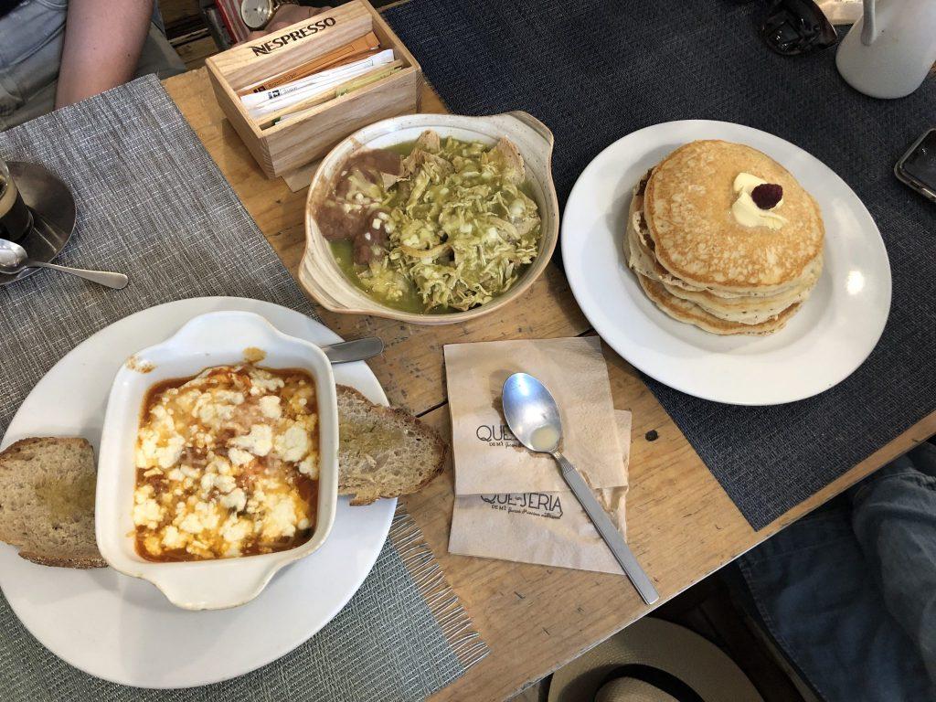 breakfast in mexico city at que seria de mi