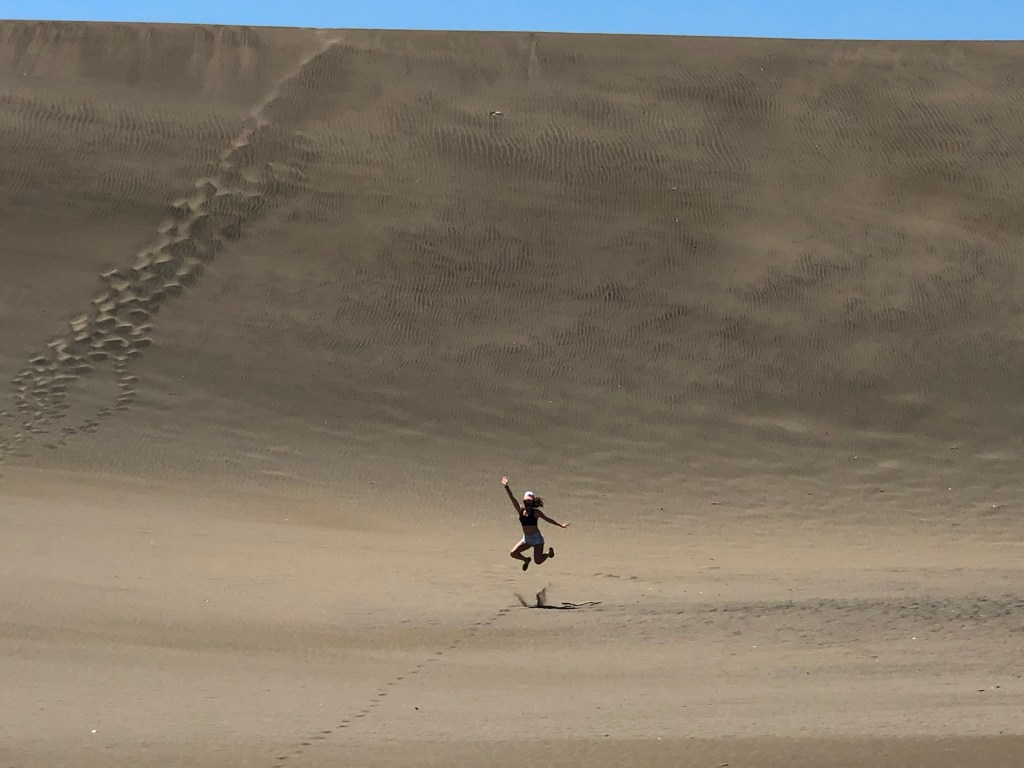 sand dunes in bani