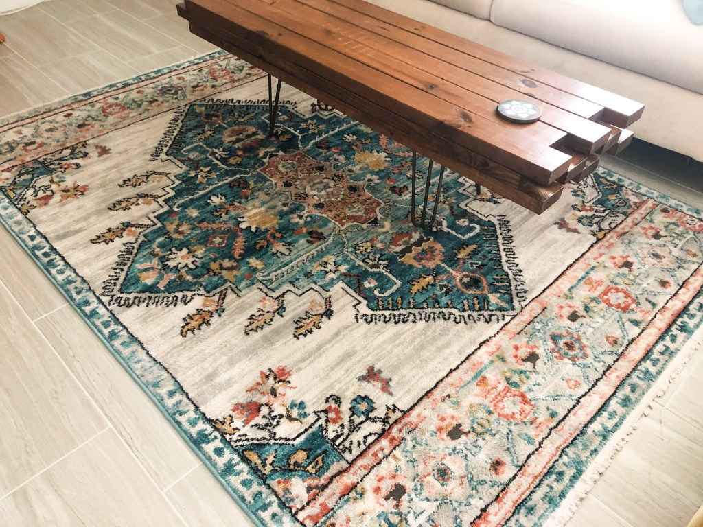 boho area rug from well woven