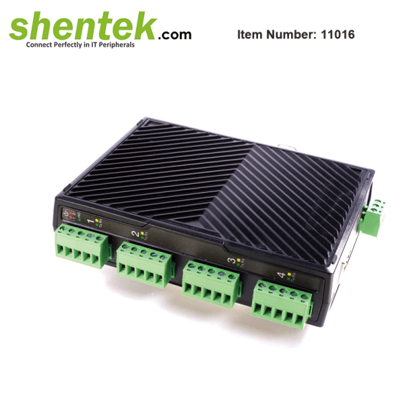 shentek-11016-4-port-RS422-RS485-serial-device-server-over-IP-isolation