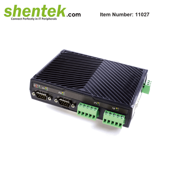 serial Device Server Over IP RS232 RS422 RS485 Isoaltion