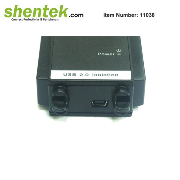 shentek-11038-USB-2-3KV-Isolation-Adapter-Din-Rail-Wall-Mount