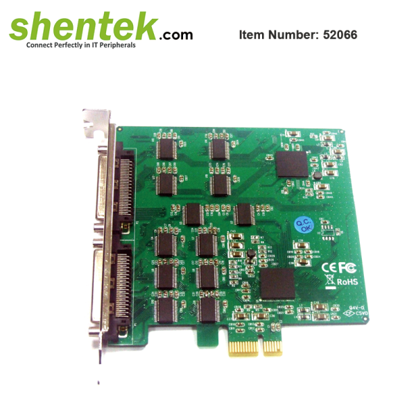 serial RS232 16 port PCIe Card