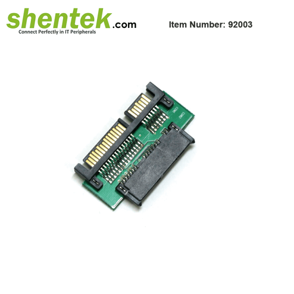 shentek-92003-SATA-22-pin-to-Slim-SATA-Adapter