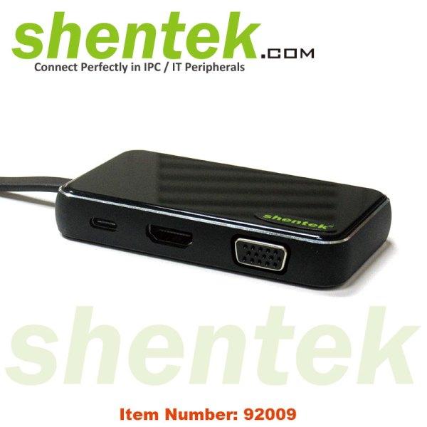 92009-USB-C-Docking-Station-HDMI-VGA-USB-PD