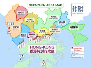 深センマップ(Shenzhen Map)