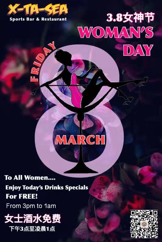X-TA-SEA Woman's day special
