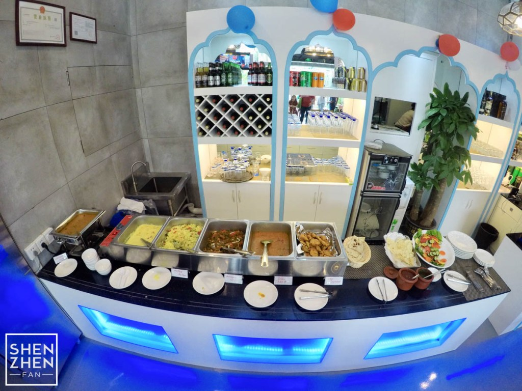 Kebab house buffet