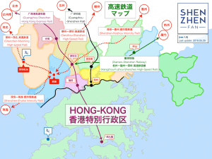 [NEWS]深センに新たな高速鉄道駅を2駅(西丽/深圳机场)建設予定!