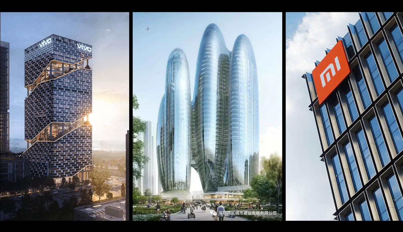 シャオミ国際本部・VIVO本社・OPPO本社が深センに建設計画進行中:総投資額2,800億円超!