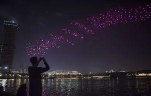 600機のドローンショー!深圳人才公园で開催情報(8/25-26)