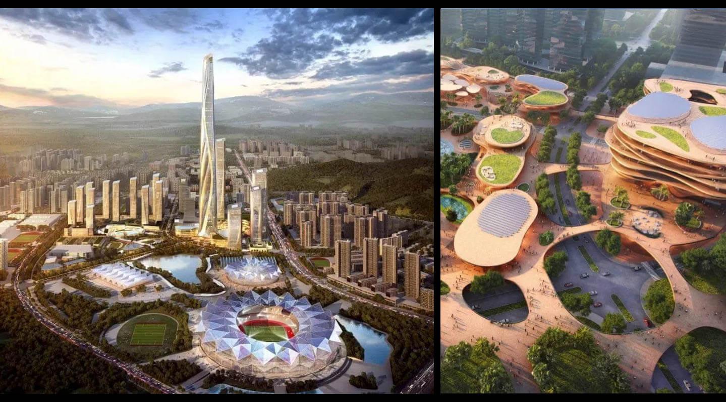 世界第二位のタワー「世茂深港国際中心」深セン竜崗区に建設中:AIスマートコミュニティ計画最新情報