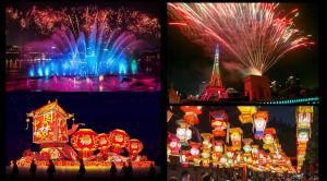 【2021 春節】深セン市内で開催中の花火・ライトショー情報!